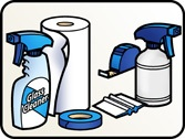 Install supplies for Vinyl Decal Film