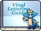 installed vinyl lettering